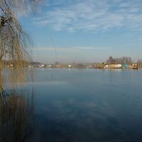 Kaposvár környéki befagyott vizek