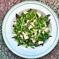Zöldbabos köles saláta