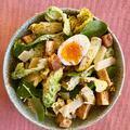 Amolyan Cézár saláta