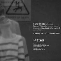 Fashion videos at Szatyor Bár és Galéria