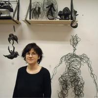 Rabóczky Judit Rita: Angyal- második hanging art a Szatyor Galériában