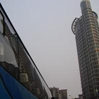 Chongqing a taxiból