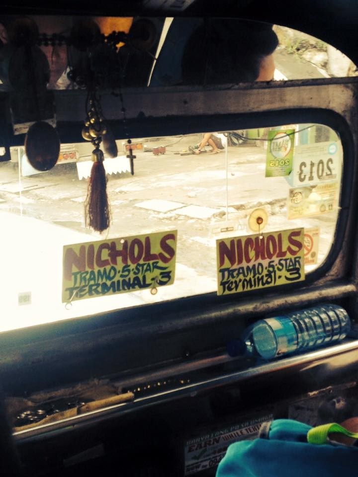 Jeepney belső 1.