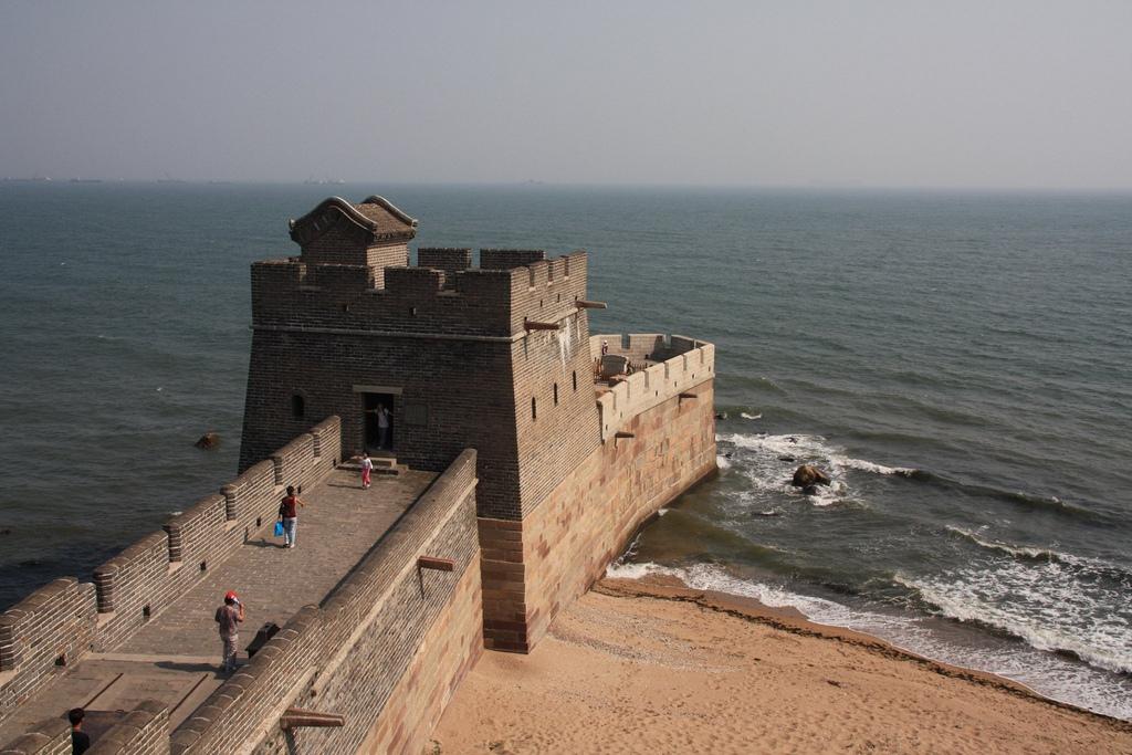 Véget ér a Nagy Fal Shanhaiguanban