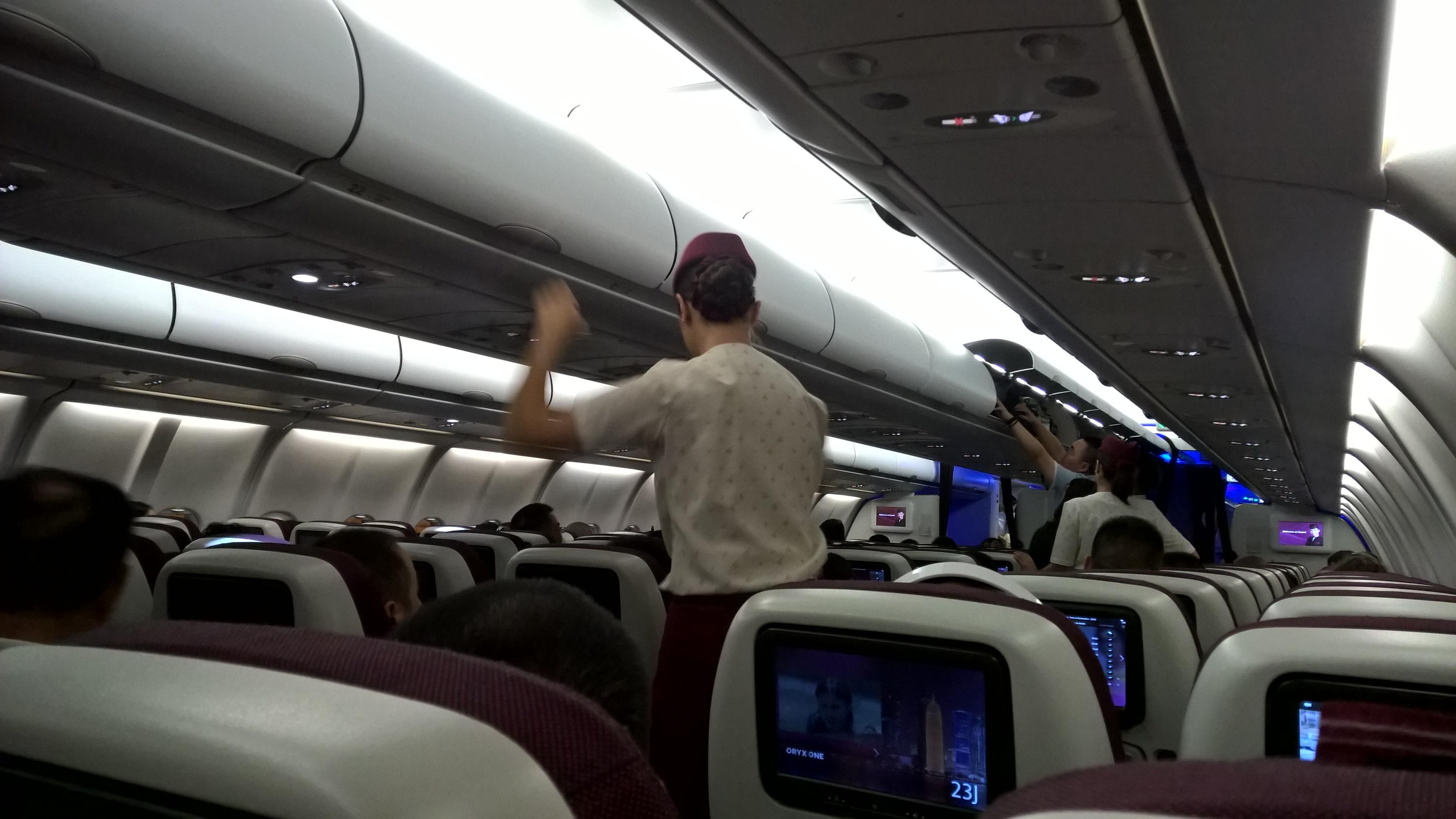 Ez már a Qatar Chongqing-Doha járata.