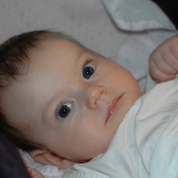 Léna Zsófia három hónapos