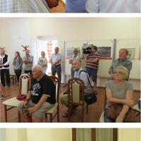 Garay Ákos kiállítás megnyitó és emléktábla avatás.