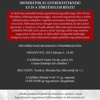 Délvidéki Magyar Golgota vándorkiállítás