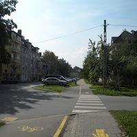 Bicikliútnak álcázott járda