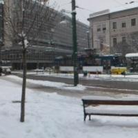 Hókotró járta be Szegedet