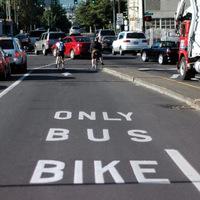 Kerékpározható buszsávokat!
