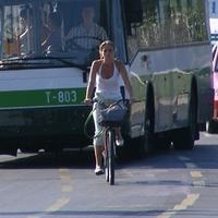 Hiedelmek helyett a valóság a kerékpársávról: 100-ból 97 biciklis szabályos
