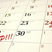 Biciklis naptár, és filmvetítés