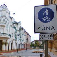 Gyalogos – kerékpáros övezet alakítottak ki Szegeden