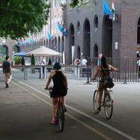 Szabadtéri színház, a kerékpárosok rémálma