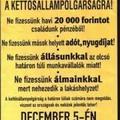 Magyar állampolgársági eskütétel Szegeden, szoci módra