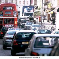 Szennyező autó csak fizetés után hajthat be London belvárosába