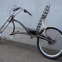 Jenei Pista saját épitésű kerékpárjai