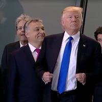 Trump és Orbán összeborulnak, és kölcsönösen benyújtják egymásnak a számlát