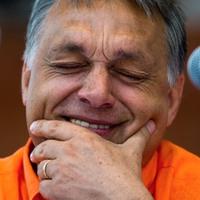 Orbán Viktor szalmaszállal, vagy anélkül