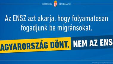 Stop Soros helyett itt a Stop ENSZ: Nesze neked pozitív kampány!