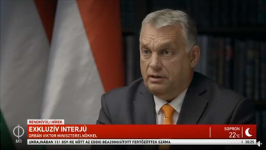 Orbán mondott is valamit a járványról, meg nem is