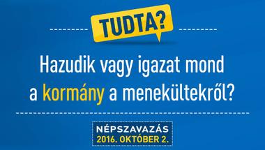 Három kormányzati trükk, melyekre a kvótaellenes népszavazás kampánya épül