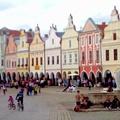 Utazás Csehországba, 1. nap, Telc, Prága