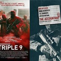DUPLA VETÍTÉS - Triple 9 / The Accountant
