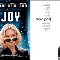 DUPLA VETÍTÉS - Joy / Steve Jobs