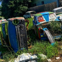 Roncsok: Trabant-temető