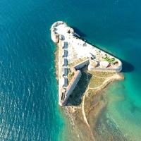 Sibenik védőbástyája: A Szent Miklós erőd (St. Nicholas Fortress)
