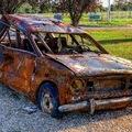 Roncsok: A Dunából kihúzott Lada végső