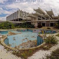 HALUDOVO HOTEL PALACE - Szellemhotel a Krk-szigeten