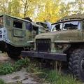 Roncstemető egy elhagyatott orosz katonai bázison