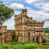 Bannerman-kastély a Pollepel-szigeten