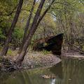 Százéves szellemhajó az Ohio folyóban