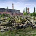 Hatalmas tanktemető Ukrajnában