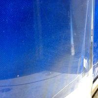 Motor szélvédő plexi polírozása