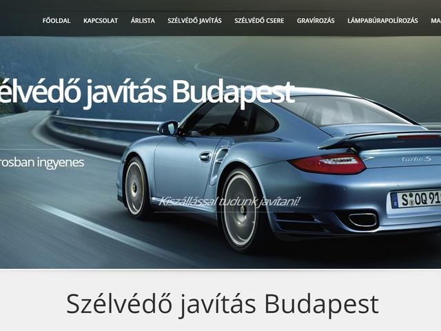 Szélvédő javítás Budapest