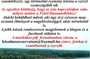 Igaz történetek a Felső-Dunamellékről-pályázat