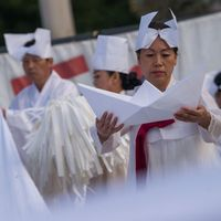 Tradicionális dél-koreai felvonulással búcsúztatták a dunai hajóbaleset áldozatait