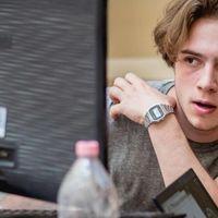 Zsigó Miklós nyíregyházi fiatalember különdíjat kapott az EU Fiatal Tudósok Versenyén