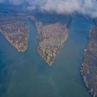 Látványos kisfilm készült a Duna és a Tisza találkozásáról