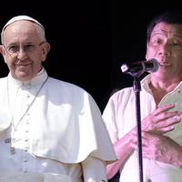 Ferenc pápával haverkodik a Fülöp-szigeteki diktátor