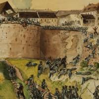 Ünnepi megemlékezést tartottak Buda vára visszafoglalásának 170. évfordulóján