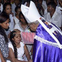 Ferenc pápa találkozott a Srí Lanka-i bíborossal