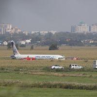 Kényszerleszállást hajtott végre egy utasszállító repülőgép a kukoricaföldön