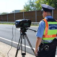 A gyorshajtókat ellenőrzi a jövő héten a rendőrség