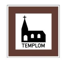 Változott a KRESZ: kereszt kerülhet a templomjelző táblákra
